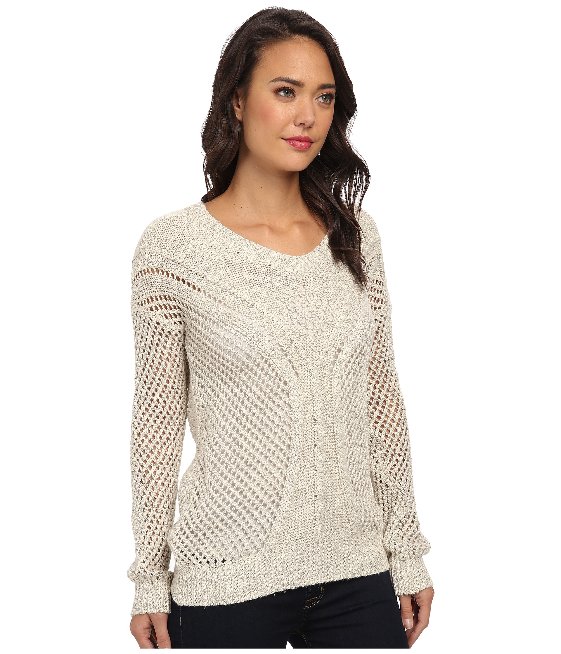 Jack By Bb Dakota Damia Cable Knit Sweater