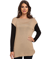 Three Dots - Easy L/S Boatneck Tunic