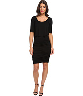 Three Dots - 2-Fer 1/2 Sleeve Dress