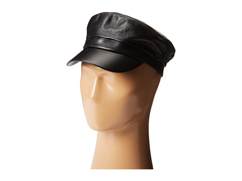 Hat Attack Leather Cap