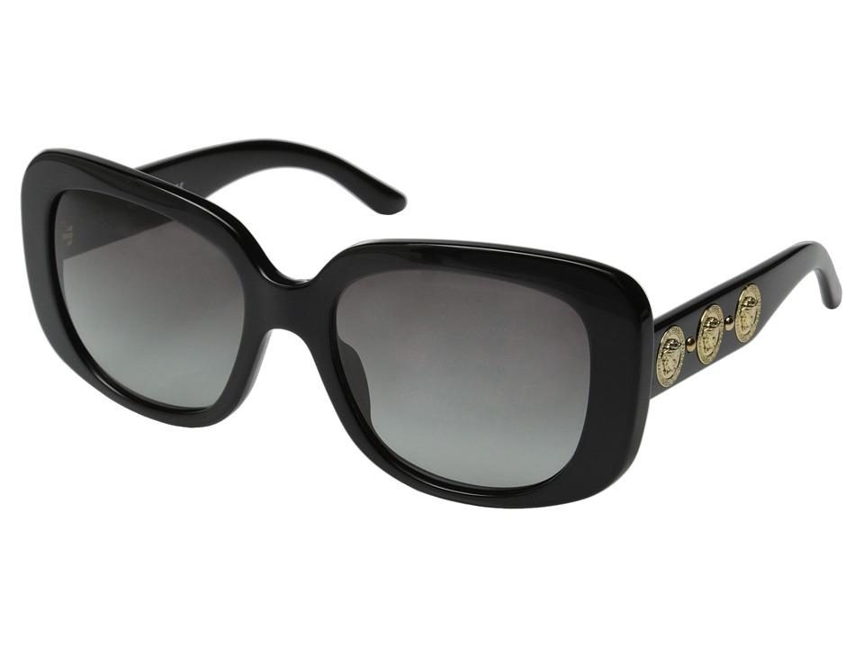 Versace VE4284 Black/Grey Gradient Fashion Sunglasses