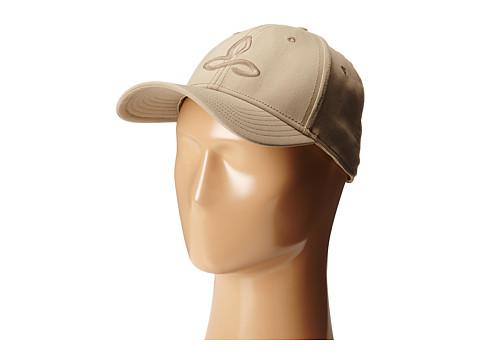 Prana Zion Ball Cap - Dark Khaki