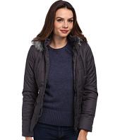 Gabriella Rocha - Zip Front Puffer Coat w/ Faux Fur Trim Hood