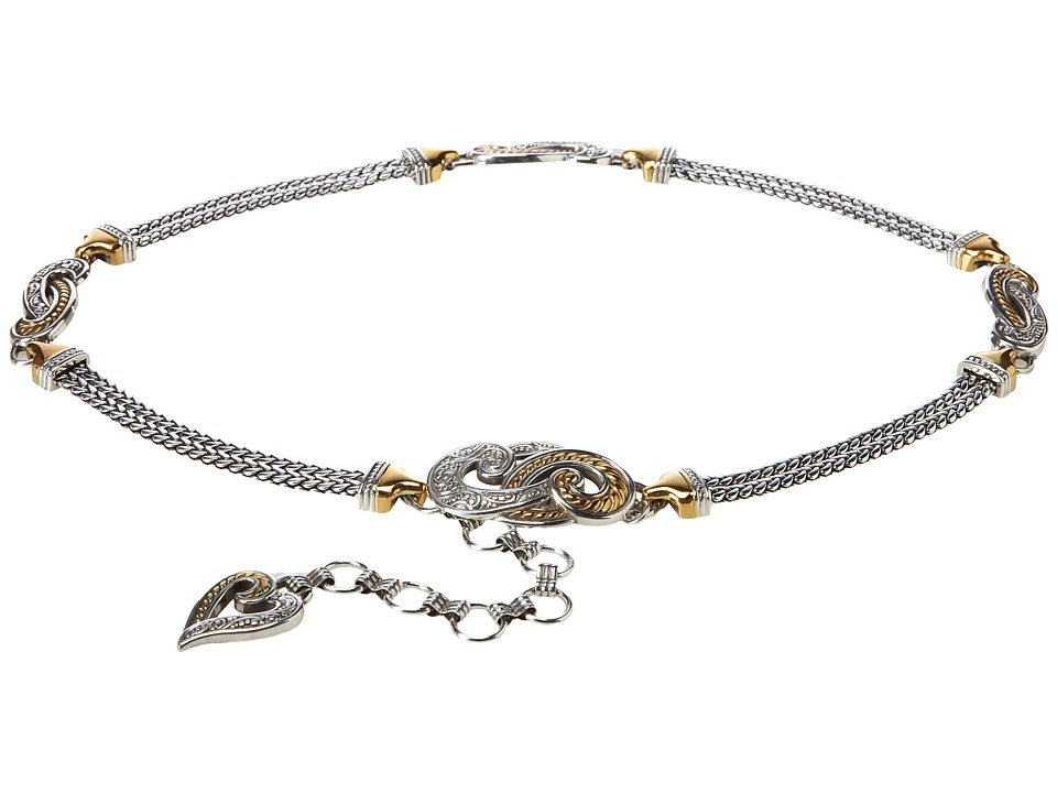 Brighton - Bali Hai (Gold/Silver) Womens Belts