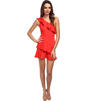 BCBGMAXAZRIA - Calinda One Shoulder Ruffle Dress
