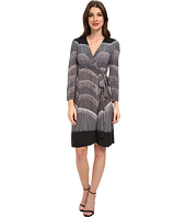 BCBGMAXAZRIA - Adele Printed Wrap Dress