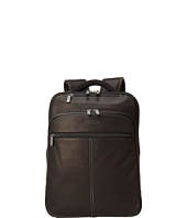 Kenneth Cole Reaction - Back-Stage Access Colombian Leather Computer Backpack
