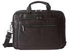 Kenneth Cole Reaction Kenneth Cole Reaction A Golden Op-Port-Unity Colombian Leather Laptop Brief