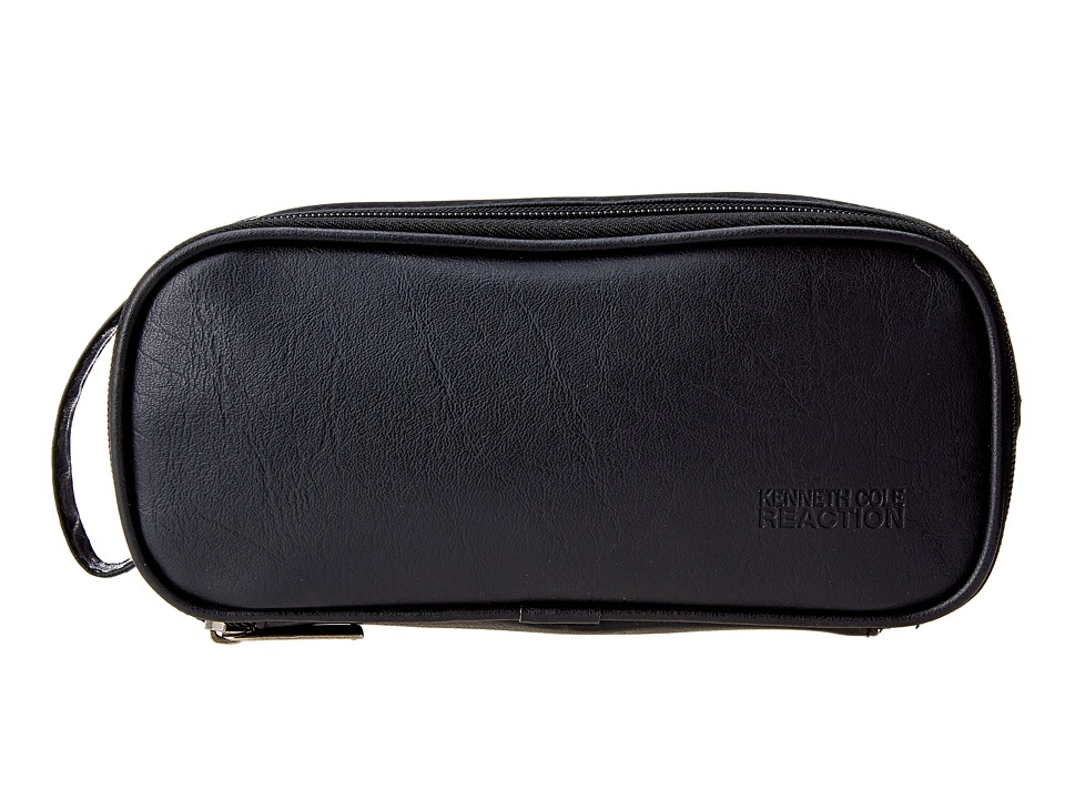 Kenneth Cole Reaction - Compact-ual Agreement Travel Kit/Accessory Pouch (Black) Travel Pouch