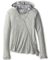 Splendid Littles - Jersey with Speckle Hooded Top (Big Kids)