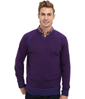 Robert Graham - The Cottage L/S V-Neck Knit Sweater
