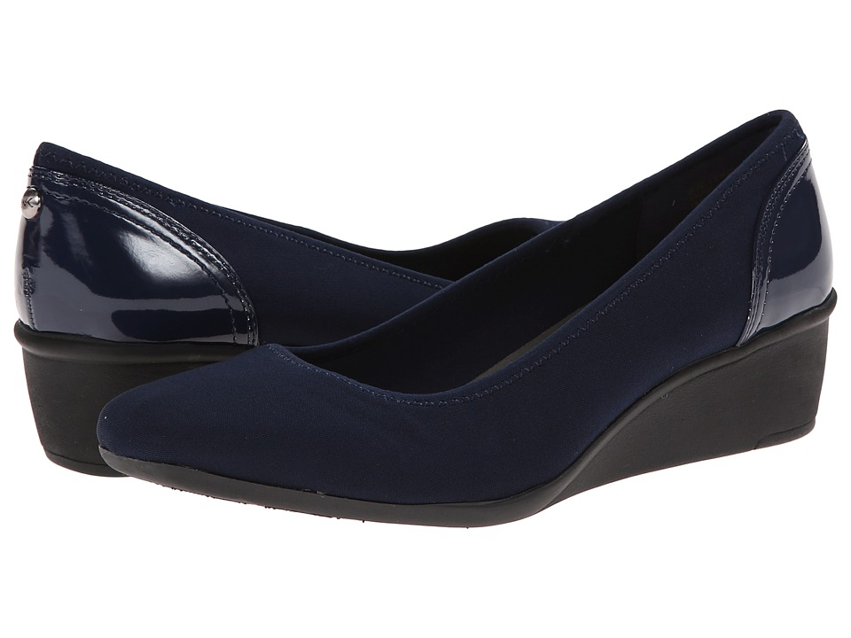 Anne Klein - Wisher (Navy Fabric) Womens Shoes