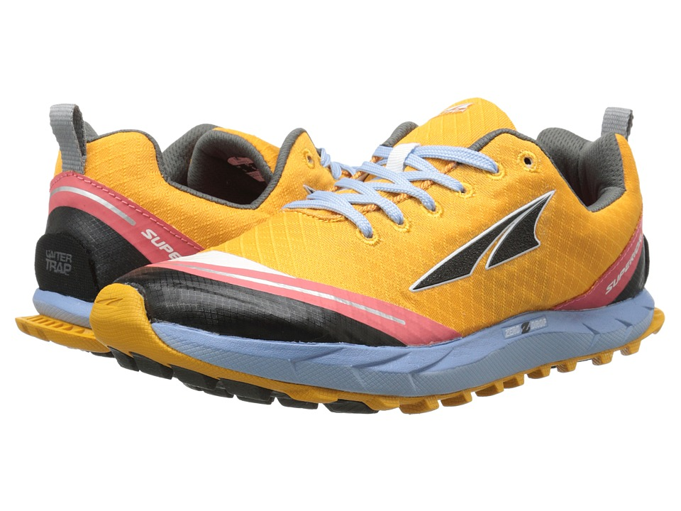Altra Zero Drop Footwear - Superior 2 (Orange/Blue) Women's Running Shoes