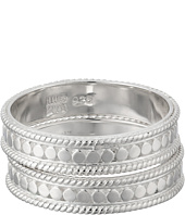 Anna Beck - Set of 2 Stacking Band Rings