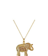 Anna Beck - Elephant Pendant Necklace w/ 30