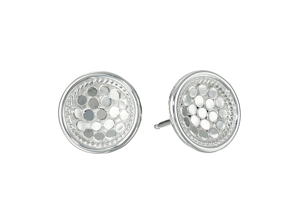 Anna Beck Dish Earrings w/ Post Sterling Silver Earring