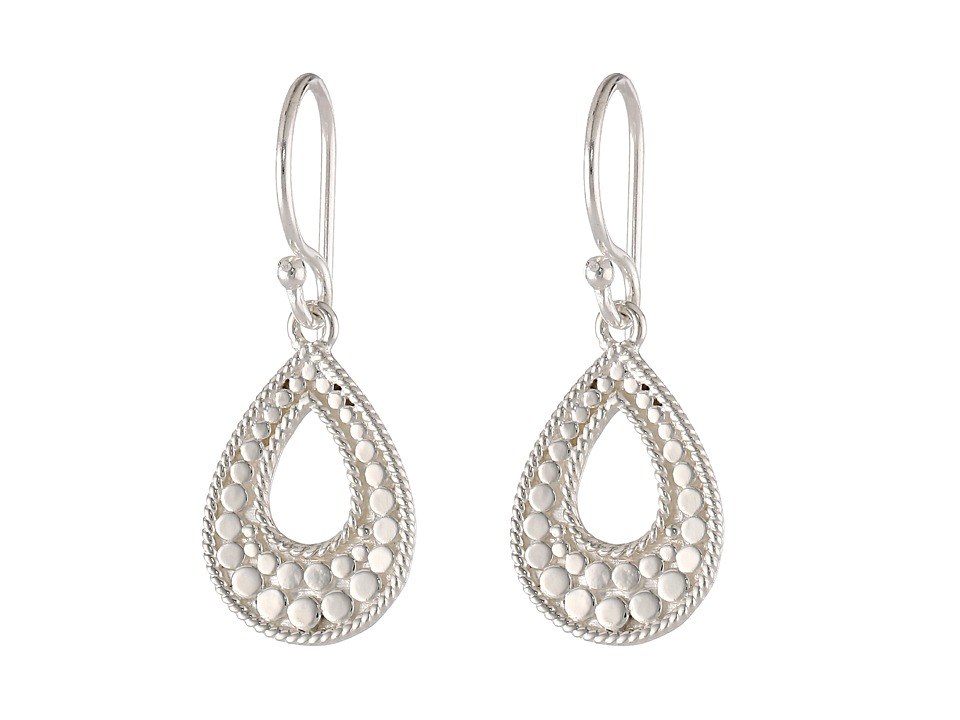 Anna Beck Small Open Teardrop Earrings Sterling Silver Earring