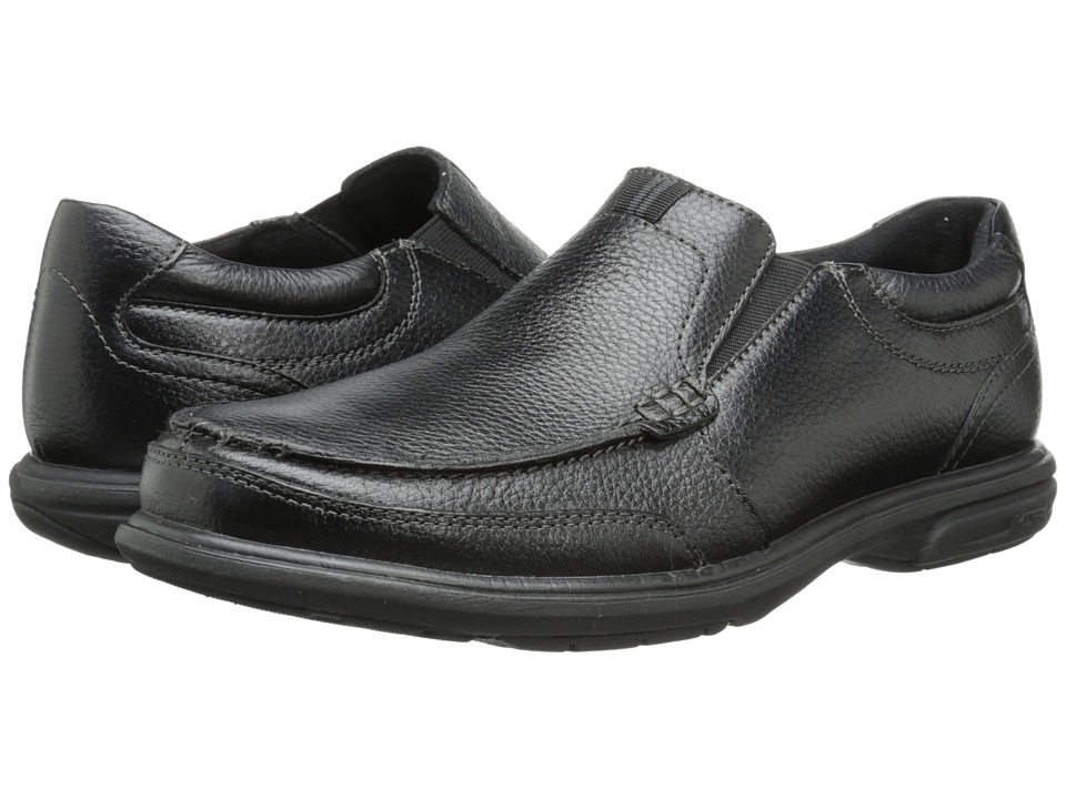 Nunn Bush Carter Moc Toe Slip-On (Black) Men