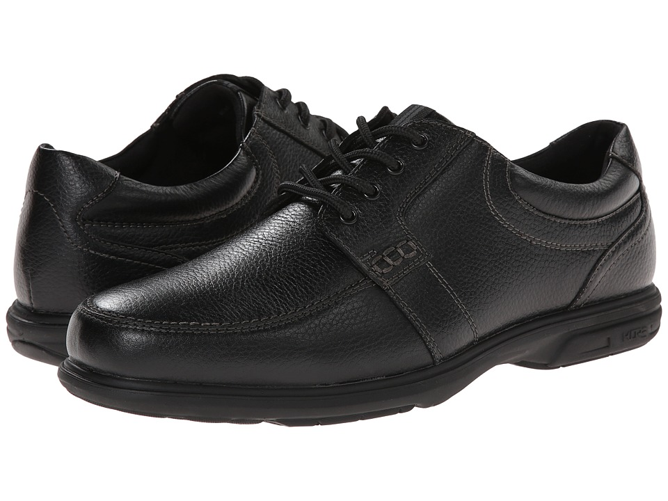 Nunn Bush Carlin Moc Toe Oxford (Black) Men