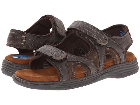 Nunn Bush Randall Two-Strap Sandal