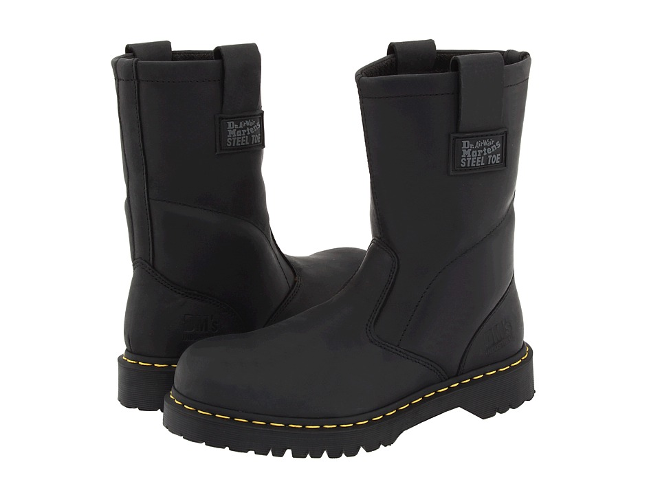 Dr. Martens Work - 2295 Rigger (Black Ind. Greasy) Work Pull-on Boots