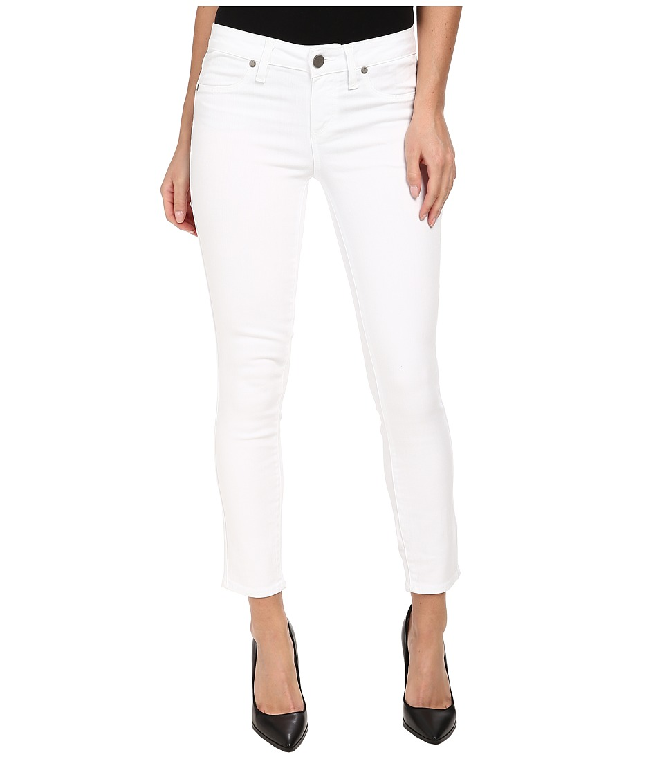 Paige - Verdugo Crop in Ultra White (Ultra White) Womens Jeans