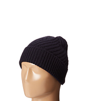 Calvin Klein - Geometric Rib Fold Up Cuff Hat