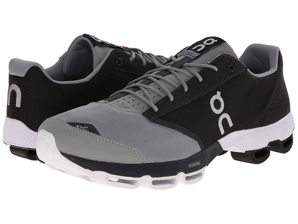 On Cloudster Black/White 1 Mens Running Shoes