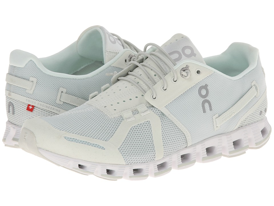 On Cloud Ice/White Womens Running Shoes