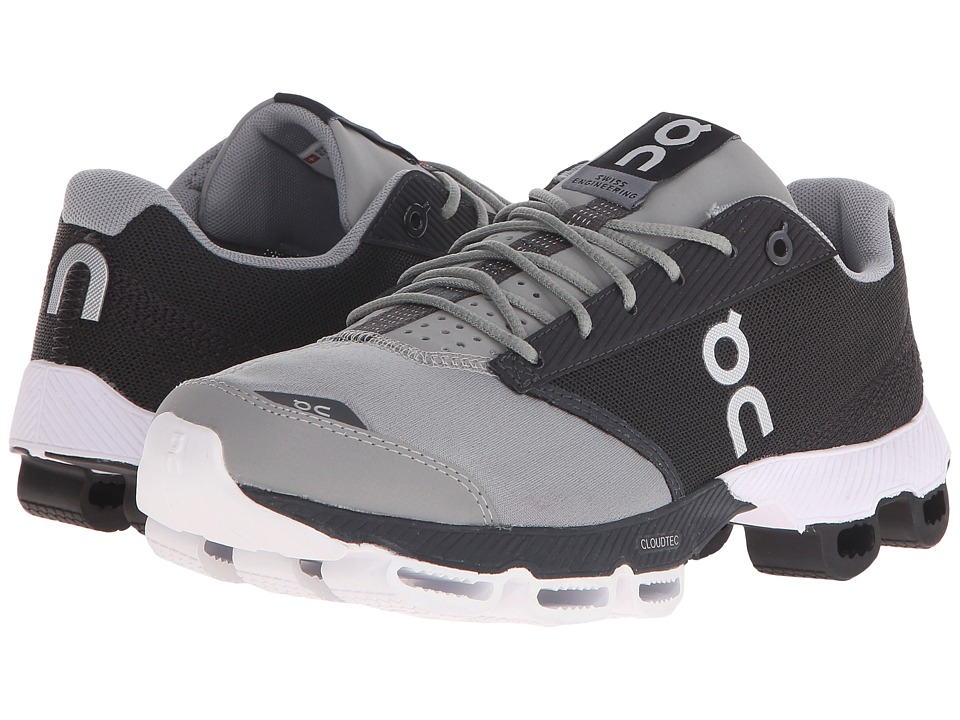 On Cloudster Black/White Womens Running Shoes
