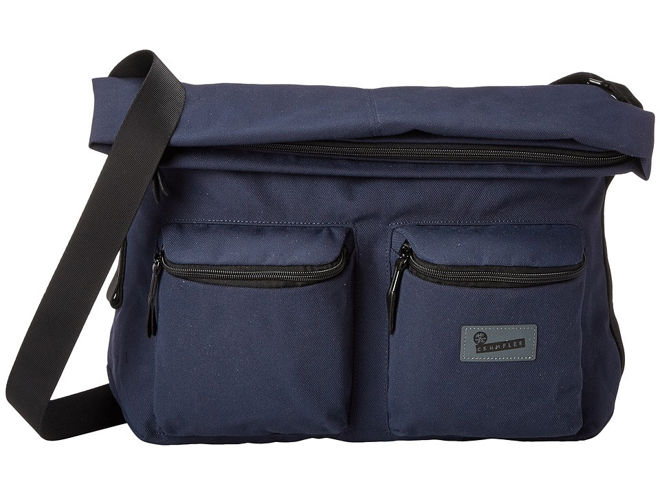 Crumpler - The Leaked Memorandum Laptop Messenger/Satchel (Midnight Blue) Computer Bags