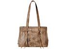 American West Flower Child Large Shopper Tote (Stone)
