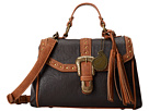 Castle Rock Top Handle Convertible Flap Bag
