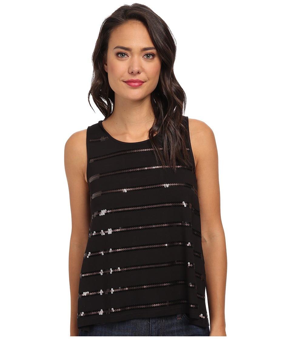 Jack by BB Dakota Adrina Top (Black) Women's Sleeveless