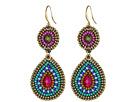 Gypsy SOULE Earring DE548 (Silver/Blue)