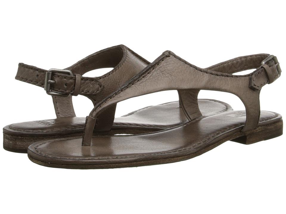 Frye - Carson Seam T (Grey Soft Vintage Leather) Women