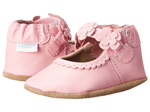 Robeez Claire Mary Jane Soft Soles (Infant/Toddler) - Prism Pink