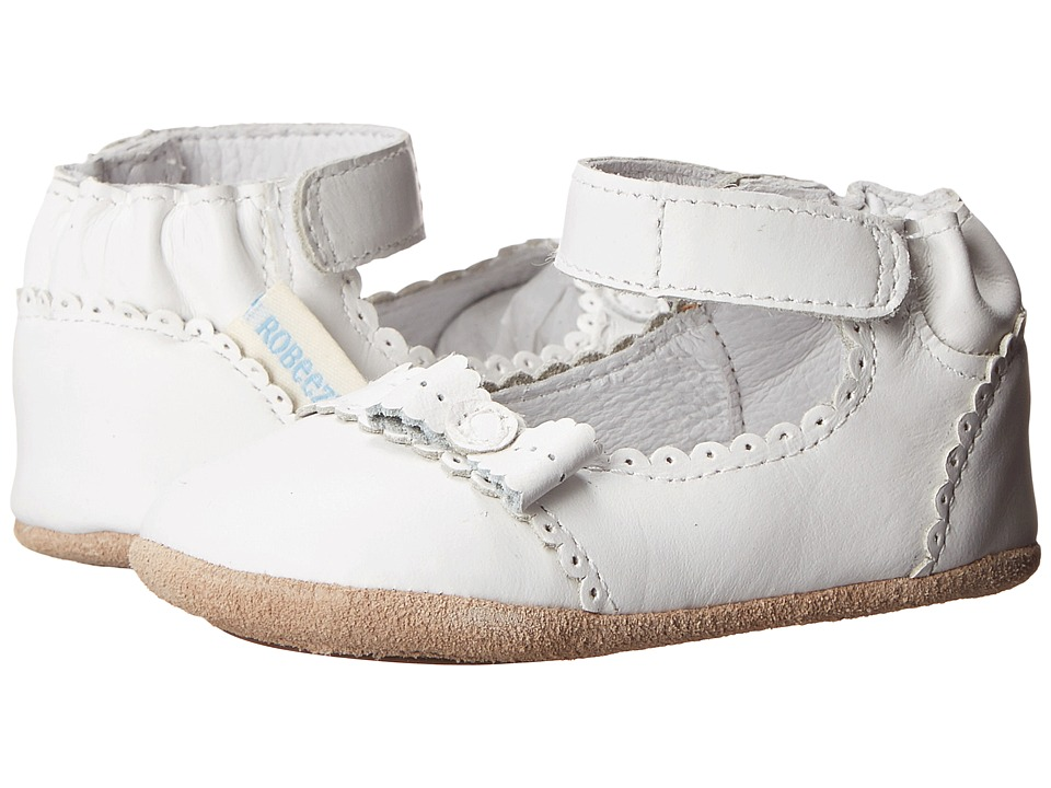 Robeez - Catherine Mini Shoez (Infant/Toddler) (White) Girls Shoes