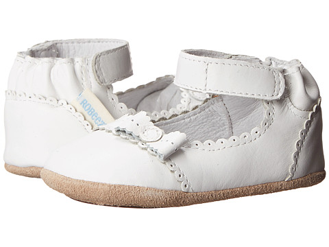 Robeez Catherine Mini Shoez (Infant/Toddler) - White