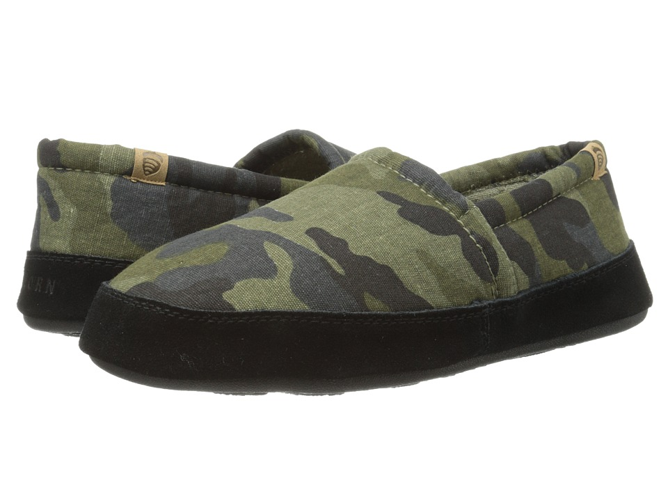 Acorn Acorn Moc Summerweight Grey Camo Mens Slippers