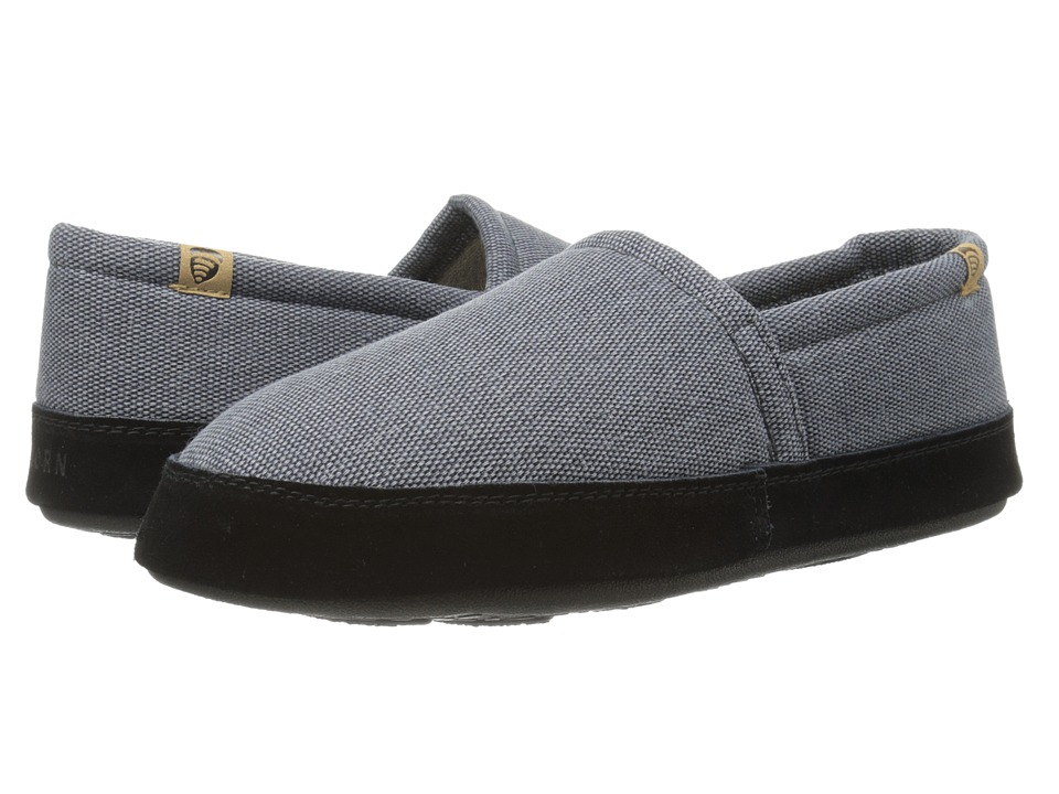 Acorn Acorn Moc Summerweight Blue Slate Mens Slippers