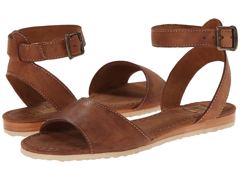 Shop Frye online and buy Frye Mandy Ankle Cognac Sunwash Nubuck Womens Sandals online