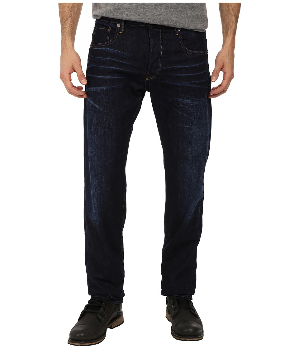 G Star 3301 Straight in Dark Aged Dark Aged Mens Jeans