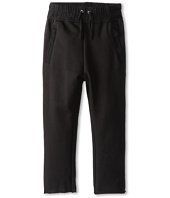 Hudson Kids - The Skinny French Terry Pant in Black (Little Kids/Big Kids)