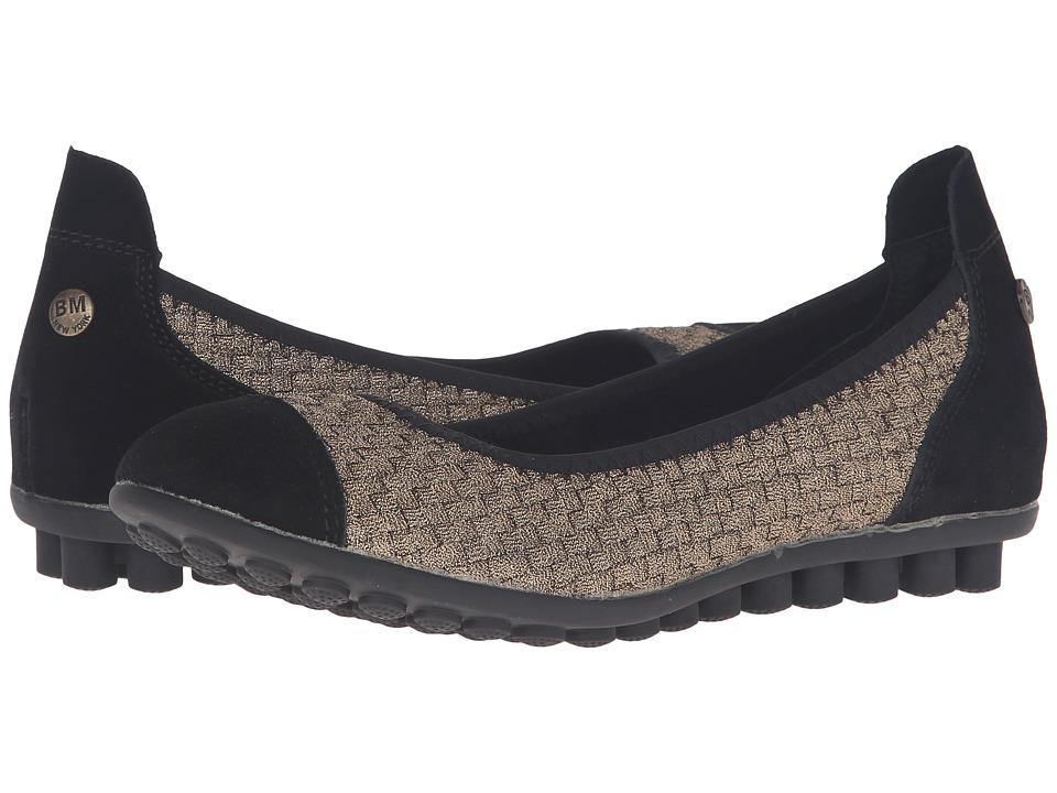 Image of bernie mev. - Bella Me (Bronze) Women's Flat Shoes