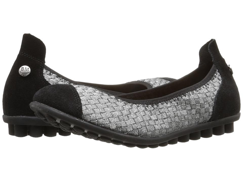 Image of bernie mev. - Bella Me (Pewter) Women's Flat Shoes