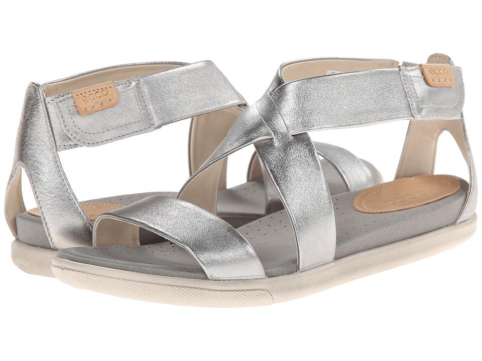 ECCO Damara Strap Sandal Alusilver Womens Shoes