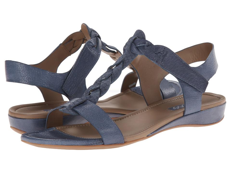 ECCO Bouillon Knot Sandal II (Denim Blue/Denim Blue) Women