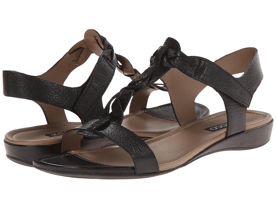 ECCO - Bouillon Knot Sandal II (Black/Black) Women's Sandals