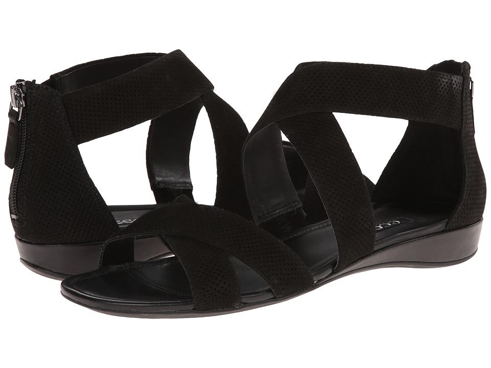 ECCO - Bouillon Band Sandal II (Black/Black) Women's Sandals